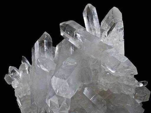 Drusa de cristal quartzo branco